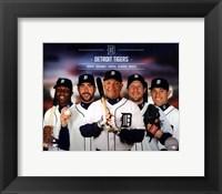 Framed Detroit Tigers 2014 Team Composite