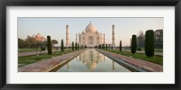 Framed Taj Mahal, India