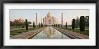 Framed Taj Mahal, India