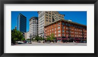 Framed Buildings in a downtown district, Salt Lake City, Utah