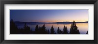 Framed Lake Tahoe, California