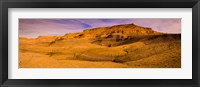 Framed Rock formations at sunset, Grand Staircase-Escalante National Monument, Utah