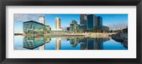 Framed Media City at Salford Quays, Greater Manchester, England 2012