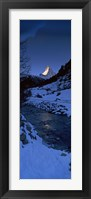 Framed Mt Matterhorn from Zermatt, Valais Canton, Switzerland