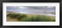 Framed Storm clouds over the sea, Newburgh Beach, Newburgh, Aberdeenshire, Scotland