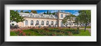 Framed Garden outside a palace, Peterhof Grand Palace, St. Petersburg, Russia