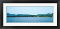 Framed Parasailing on Lake George, New York State, USA
