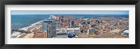 Framed Cityscape, Atlantic City, New Jersey, USA