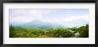 Framed Volcanos and Lake Batur, Kintamani, Bali, Indonesia