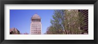 Framed Low angle view of a government building, Civil Courts Building, St. Louis, Missouri, USA