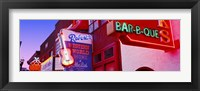 Framed Neon signs on building, Nashville, Tennessee, USA