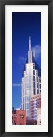 Framed Low angle view of the BellSouth Building in Nashville, Tennessee, USA