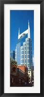 Framed Close up of BellSouth Building, Nashville, Tennessee