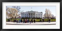 Framed White House, Washington DC