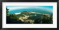 Framed Corcovado, Rio de Janeiro, Brazil