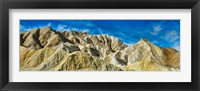 Framed Mountain Range, Twenty Mule-Team Canyon, Death Valley, Death Valley National Park, California, USA