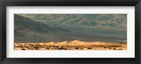 Framed Sand dunes in a desert, Death Valley, Death Valley National Park, California, USA