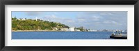 Framed View of island, Havana, Cuba