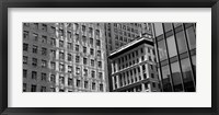 Framed Low angle view of office buildings, San Francisco, California