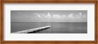 Framed Dock, Mobile Bay Alabama, USA