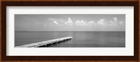Framed Dock, Mobile Bay Alabama, USA