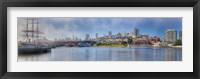 Framed Buildings at the waterfront, Fisherman's Wharf, San Francisco, California, USA