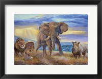 Framed African Savannah