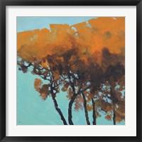 Framed Five Trees