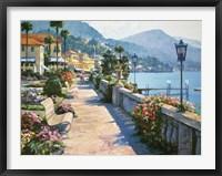 Framed Bellagio Promenade