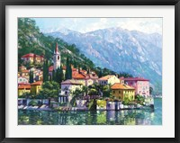 Framed Reflections of Lake Como