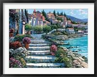 Framed Steps of St. Tropez