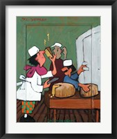 Framed Le Fromager