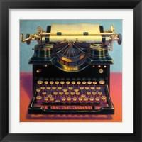 Framed Writer's Block II