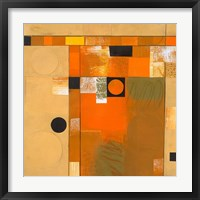 Framed Soleil II
