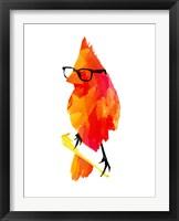 Framed Punk Bird