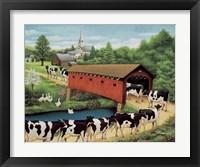 Framed Cows in West Arlington