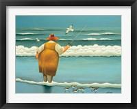 Framed Surfside Fishing