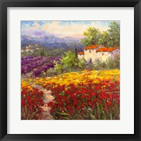 Framed Fleur du Pays II