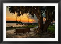 Framed Savannah Sunset
