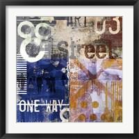 Move On IX Framed Print