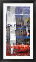 New York Sky II Framed Print