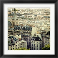 Framed Paris Calling