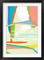 Deconstructed Landscape 3 Framed Print