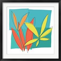 Grasses I Framed Print