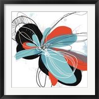 Framed Flower Dances 1