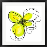 Yellow Petals One Framed Print