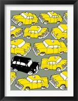 Framed Odd Ones - Black Cab