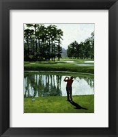 Framed Golf Course 9