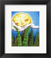 Framed Sleep Sweet Forest Moon