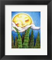 Framed Sleep Sweet Forest Moon